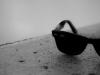 black-and-white-sunglasses-dark-summer